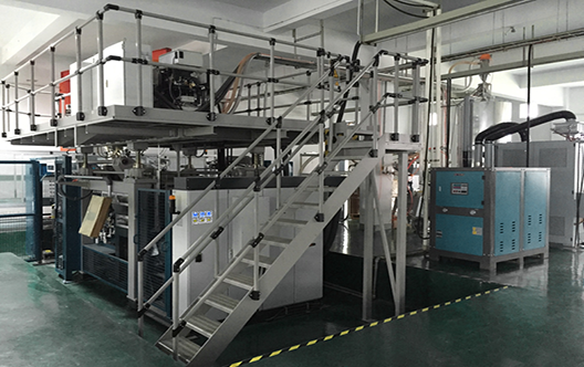 KF3D hollow blow molding machine-Auto duct