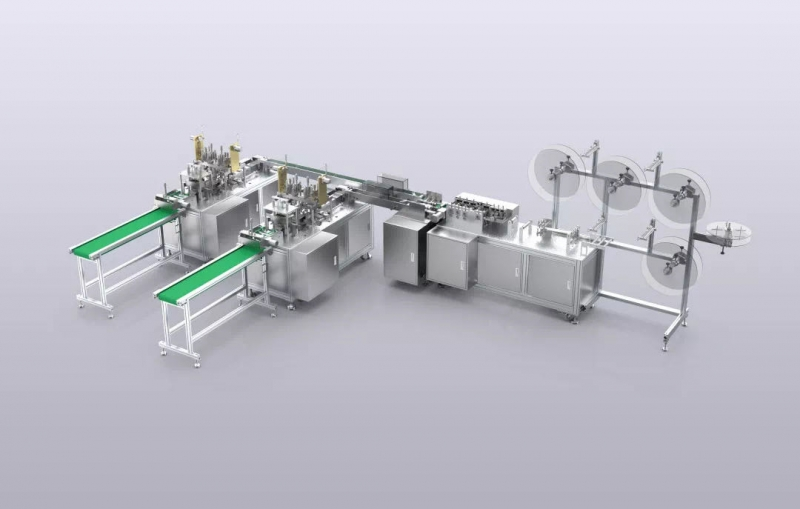 Automatic Disposal Mask Production Line