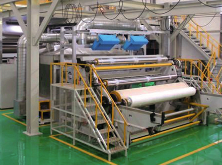Automatic melt-blown cloth production line 1600mm cloth width mask material