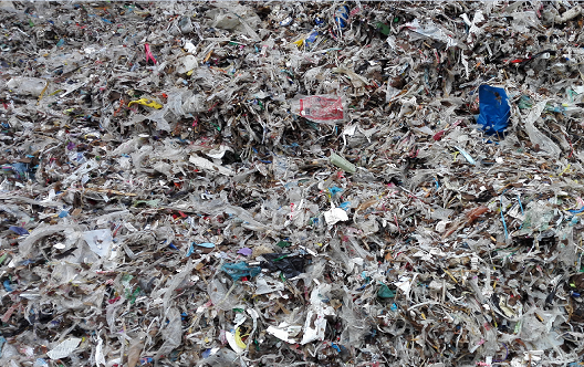 Paper mill plastic waste recycling production system